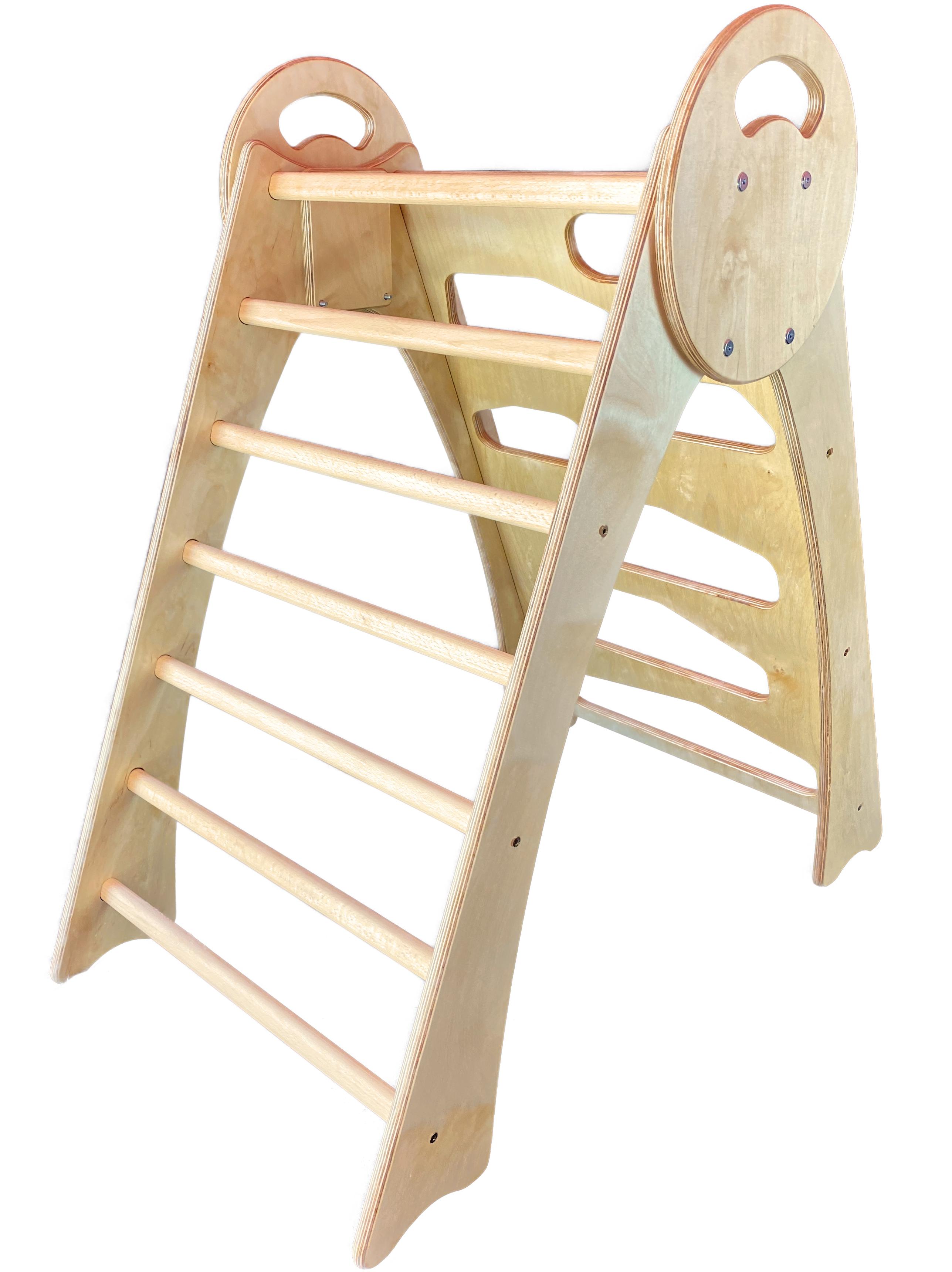 Kletterturm, Kinderleiter, Kletterwand, Pikler Dreieck